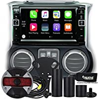 Alpine Restyle - i109-WRA 9 Apple CarPlay Radio, Multimedia system & HCE-TCAM1-WRA Spare Tire Rear View Camera