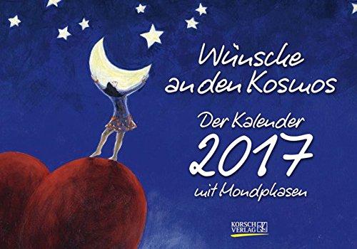 Wünsche an den Kosmos 2017: Tages-Aufstellkalender