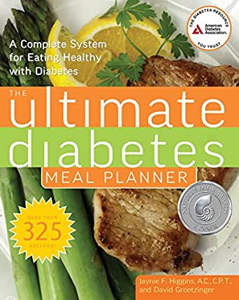 Amazon the ultimate diabetes meal planner a complete system the ultimate diabetes meal planner a complete system for eating healthy with diabetes 1st edition kindle edition fandeluxe Images