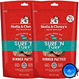 Stella & Chewy's Freeze Dried Raw Dinner Patties Dog Food 2 Pack (28oz Total) Bundle Including Hotspot Pet Travel Bowl – Made in The U.S.A (Surf N Turf) Review