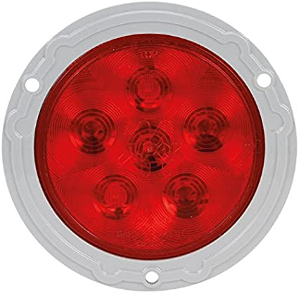 Truck-Lite 44302R3 Super 44 Series Red 6 Diode Rear LED Stop//Turn//Tail Lamp