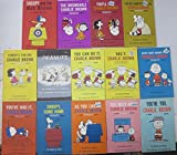 #6: PEANUTS & CHARLIE BROWN PB COLLECTION! 14 BOOKS- Holt,Rinehart&Winston-SNOOPY!
