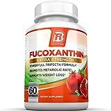 BRI Nutrition Fucoxanthin Maximum Strength Extract Plus Capsules, 3.5 Ounce