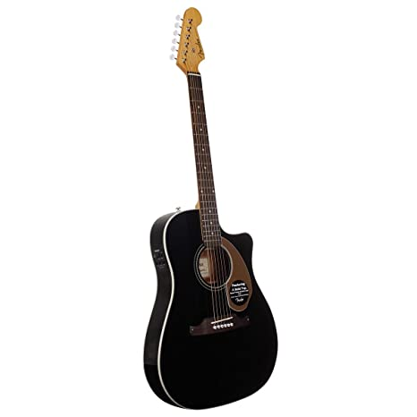 Guitarra eléctrica, color natural Fender 0968609006 Sonoran SCE Thinline, negro