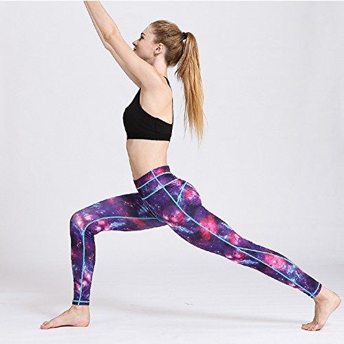 Huoduoduo Femmes Fitness Leggings Fleur Imprimé Yoga Pantalon Femelle Sport  Legging D entraînement Pantalon Élastique Courir Leggings Lady Pantalon fea74f6a4f0