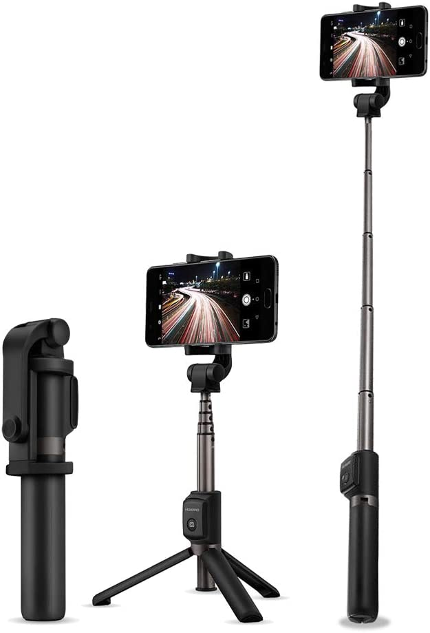 Cosiki Phone Video Stabilizer Lightweight Handheld Gimbal with Flash Stabilizer Holder for Smartphones Action Cameras