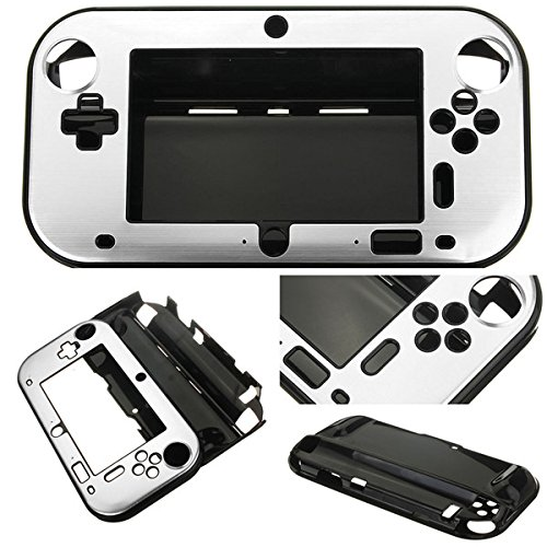 """Aluminum Case Cover for Nintendo Wii U Gamepad"