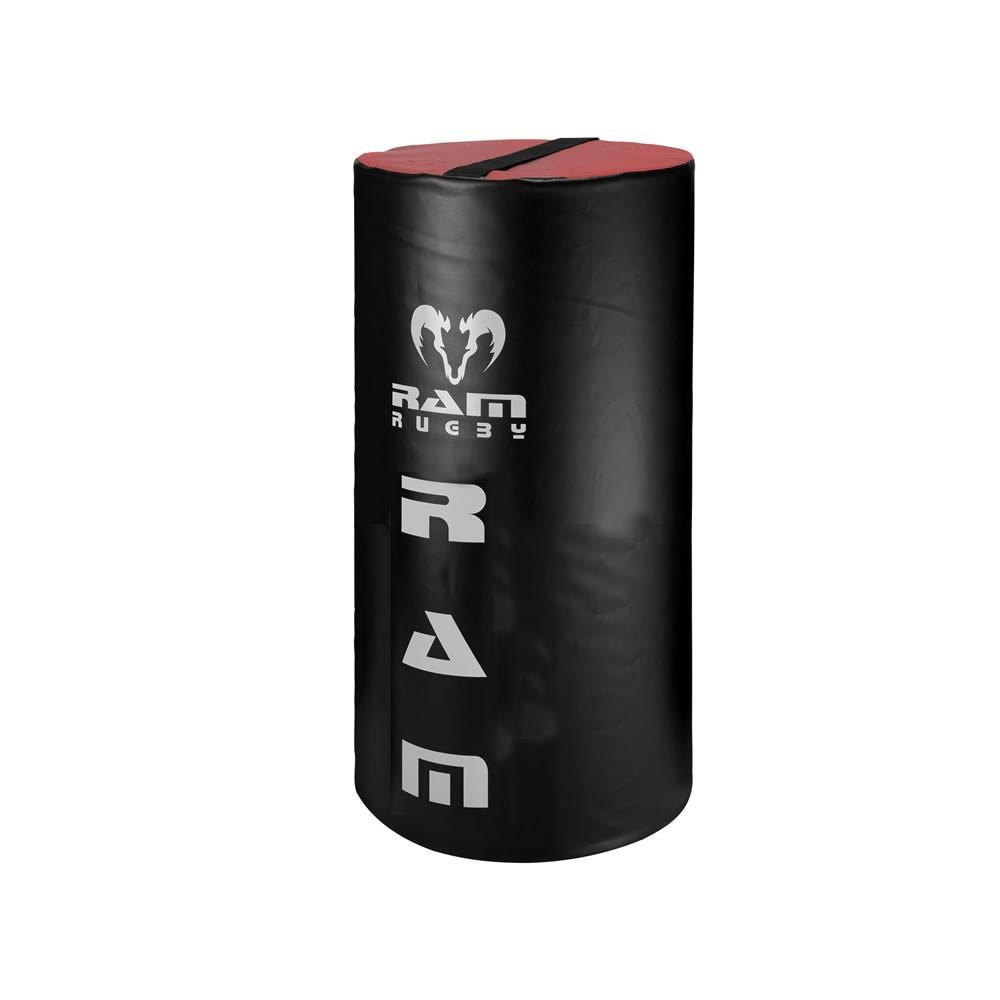 Ram Rugby Half Weighted Tackle Bag - Youth - 22lbs - 26'' Tall - Red/Black PVC Outer Cover - High Density Inner Foam