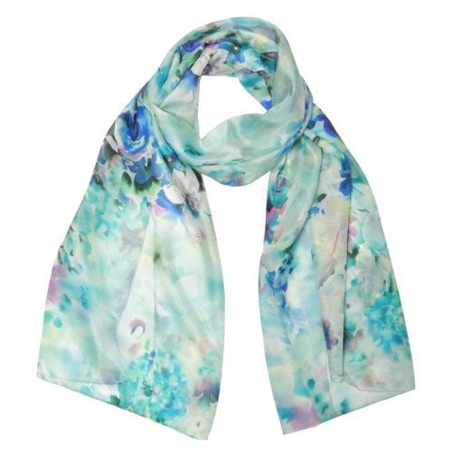 Wrapables Luxurious Charmeuse Scarf Dreamy
