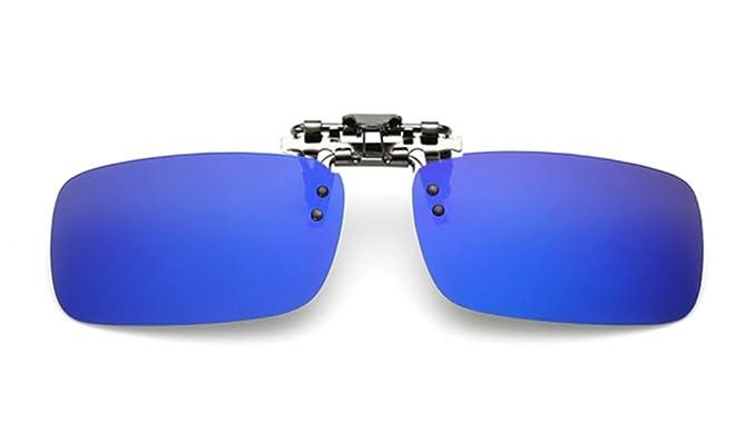 ELSA & ANNA® Flip-up Unisex Hombre Mujer Polarizado Clip en Las Gafas de