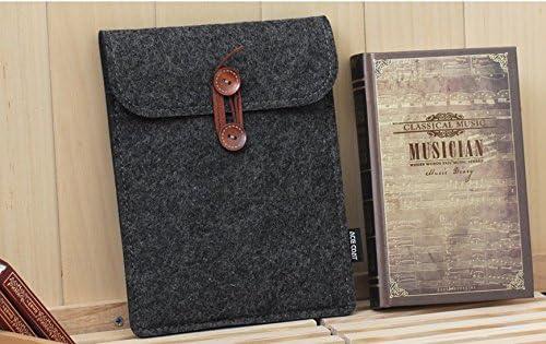 ENJOY-UNIQUE pour Kobo Aura One 19,8/cm eReader Feutre Coque Sleeve Sac Pochette pour iPad Mini Noir