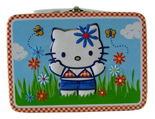 Sanrio medium size tin box- Hello Kitty Summertime tin box