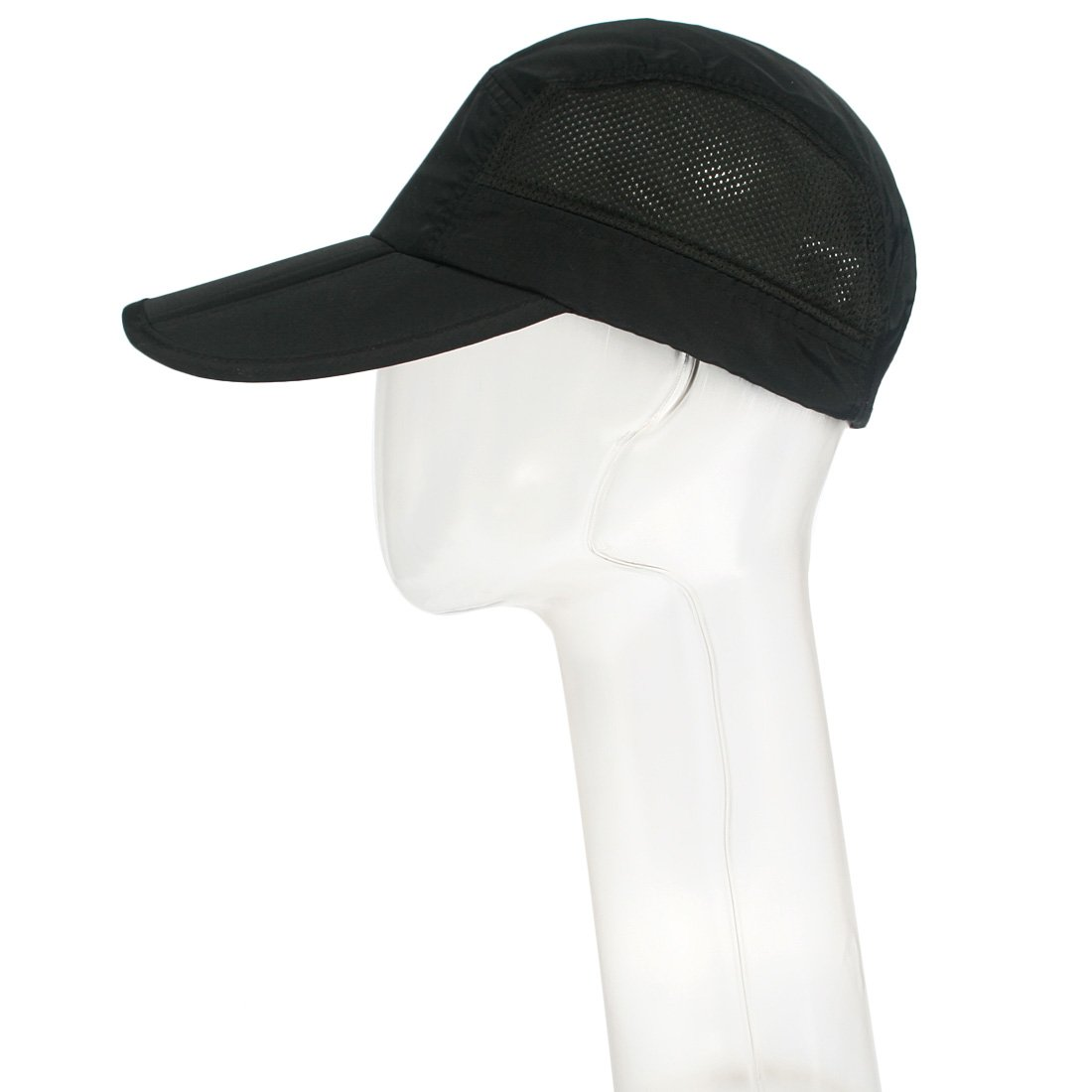 c759017bfd4be kilofly Mens Foldable Lightweight Quick Dry Adjustable Outdoor Cap, Set of 2:  Amazon.co.uk: Clothing