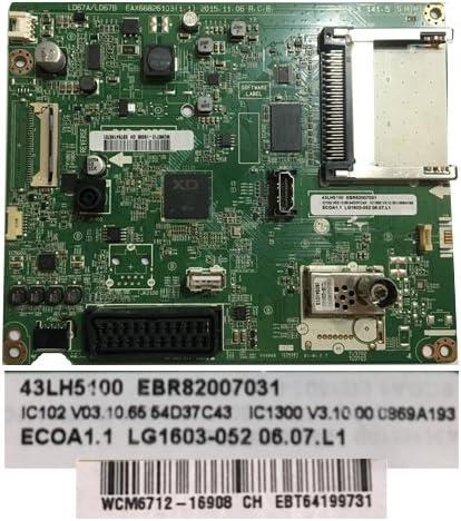Movilconsolas Placa Principal LG 43LH5100 EAX66826103(1.1) EBR82007031: Amazon.es: Electrónica