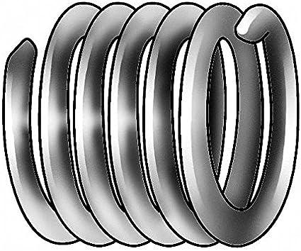 E-Z Lok EK20420 Helical Threaded Insert Kit 0.276 Installed Length 304 Stainless Steel #6-32 Thread Size Pack of 10 Pack of 10 0.276 Installed Length