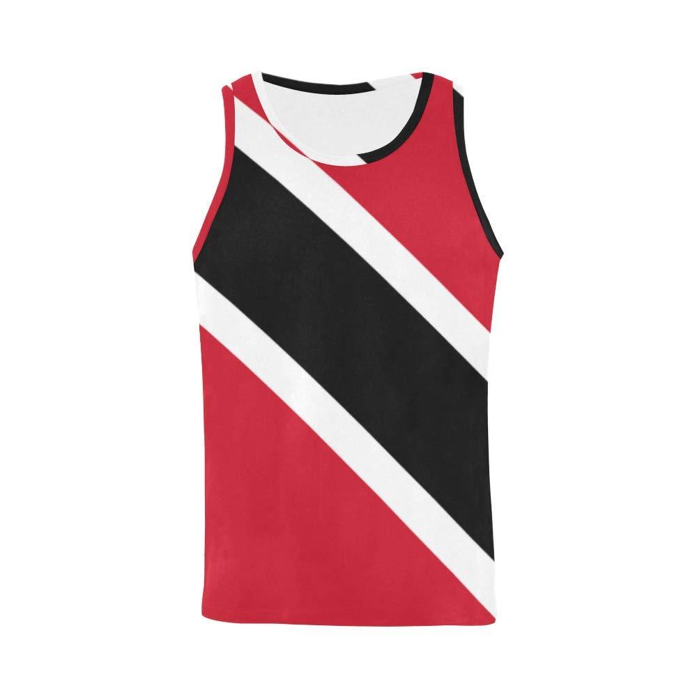 Lumos3DPrint Trinidad and Tobago Flag Men's Tank Top