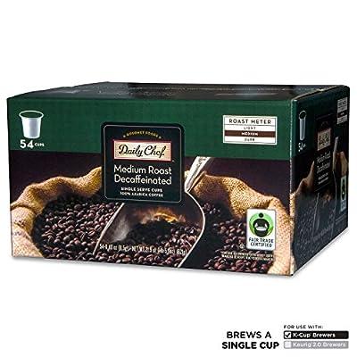 Daily Chef Medium Roast Decaffeinated Coffee, Single Serve (54 ct.)