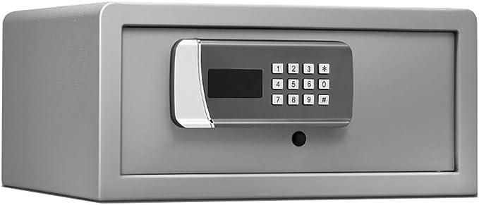 Caja fuerte YXX Cajas Fuertes Grandes y Cajas de Seguridad, Caja de Seguridad Digital para computadora portátil de 17