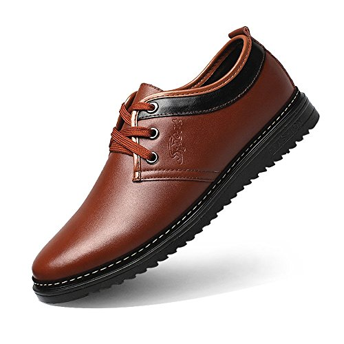 doublés Lace respirant Xujw Up Taille homme option d'affaires chaud Chaussures shoes en PU Oxford formelles pour EU Warm Noir cuir Upper Brown Couleur Matte hommes Chaussures 43 2018 O6wxaOT