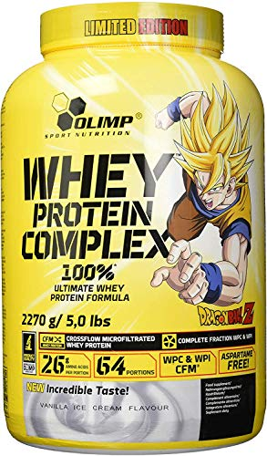 Olimp Whey Protein Complex 100% Dragon Ball Z Limited Edition, Blueberry, 2270 g blikje