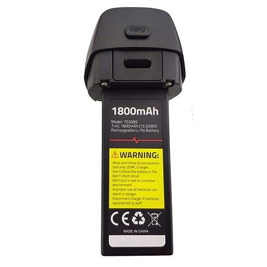 Batería de litio de 7,4 V 1800 mAh para dron UDIRC U37 D60 sin ...