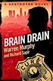 Front cover for the book Brain Drain by Warren Murphy