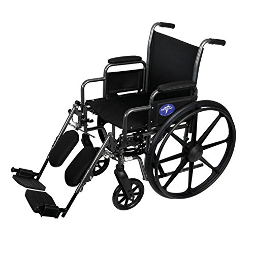 K1 Basic Wheelchair - K1 Basic Extra-Wide Wheelchair