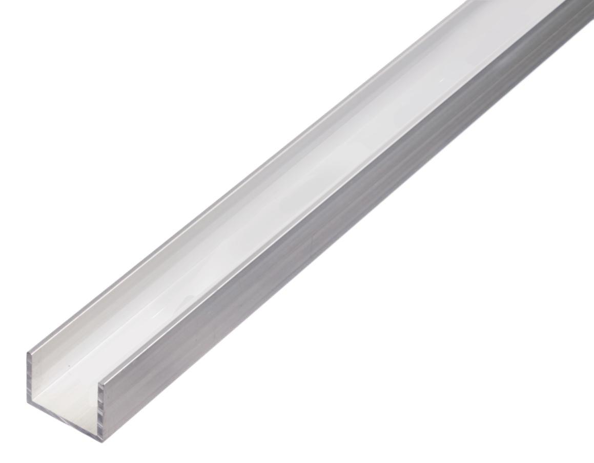 GAH-Alberts Profilé en U en aluminium, 492465