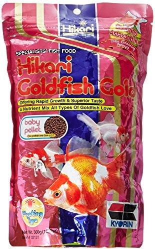 Hikari Gold Gold Fish Food 10.5 Oz - Baby ()