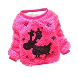 Product review for Yanzi6 Baby Girls Christmas Deer Cotton-padded Mohair Sweaters Outerwear