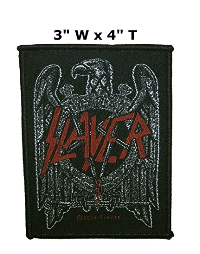 Slayer Music Band Embroidered Sew or Iron-on Patch Badge DIY Application (King Slayer Costumes For Women)