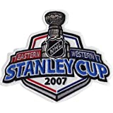 2007 NHL Stanley Cup Jersey Patch Anaheim Ducks vs. Ottawa Senators