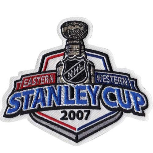 (2007 NHL Stanley Cup Jersey Patch Anaheim Ducks vs. Ottawa Senators)