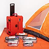 Professional Grade Emergency Survival Kit For Earthquakes, Floods, Tornados, Hurricanes, Auto - 2 Person 4 Days