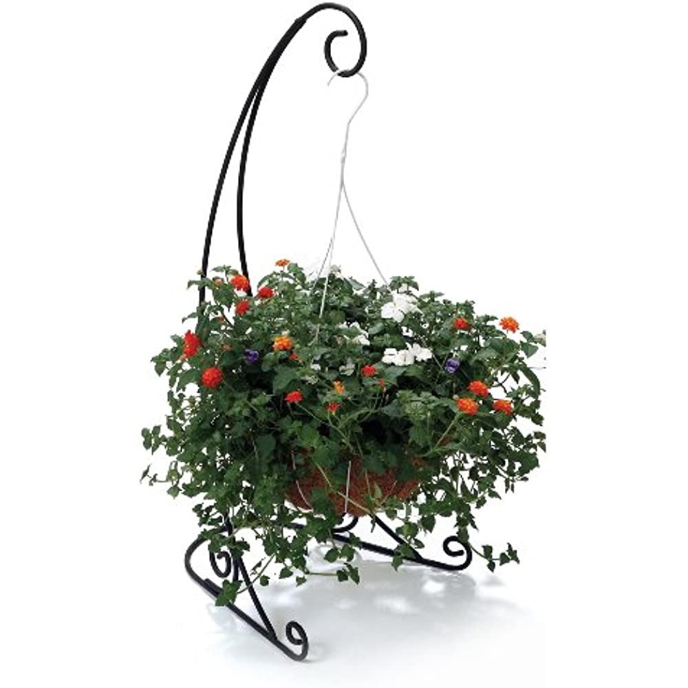40-Inch Black The Veranda Plant Stand VSB1 Hanging Garden ... on Plant Stand Hanging  id=88349