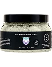 Caim & Able Magnesium Body Scrub 300g PROTECT - Lavender & Rosemary - Magnesium Sulphate Essential Oils Australian Made & Owned Birthday Gifts for Women Mothers natural vegan cruelty free