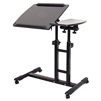 Amazon limam adjustable computer desk portable table medical limam adjustable computer desk portable table medical adjustable overbed bedside table with wheels watchthetrailerfo