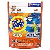 Tide Pods Plus Febreze Odor Defense Laundry Detergent Pacs, Active Fresh, 23 oz, 23 Count