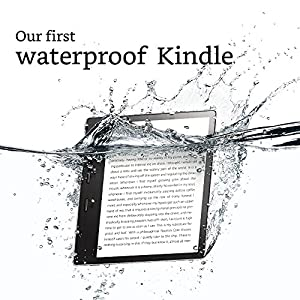 """All-New Kindle Oasis E-reader - 7"""" High-Resolution Display (300 ppi), Waterproof, Built-In Audible, 8 GB, Wi-Fi - Includes Special Offers"""