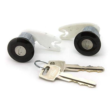 de cerraduras para puerta de coche con llave, cilindro de accesorios para modelos 80-