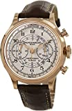 Baume & Mercier Capeland Mens Rose Gold Flyback Chronograph Watch 10007