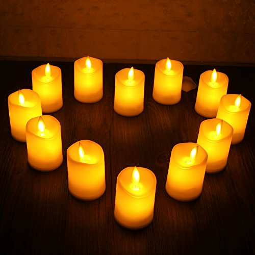 Review Flameless led Candles Flickering
