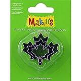 Makin's USA Clay Cutters 3/Pkg-Maple Leaf