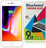BlueArmor Apple Iphone 8 Tempered Glass Screen Guard Protector (Clear Front)