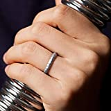 ThunderFit Women Swivel Rings 8Pack Silicone