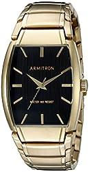 Armitron Men's 20/5117BKGP Gold-Tone Bracelet Watch