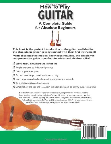 How to play guitar a complete guide for absolute beginners level how to play guitar a complete guide for absolute beginners level 1 amazon ben parker books ccuart Images