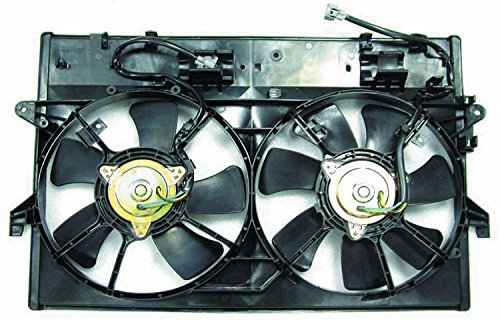 Carrep Mazda Mpv 00 01 Dual Radiator A/C Condenser Fan Shroud