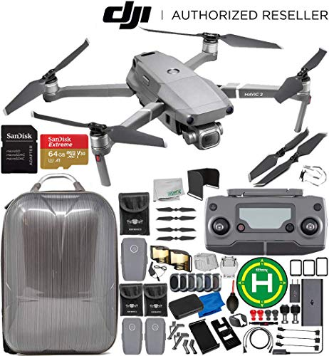 "DJI Mavic 2 Pro Drone Quadcopter w/Hasselblad Camera 1"" CMOS Sensor 3 Battery 64GB Ultimate Bundle from DJI"