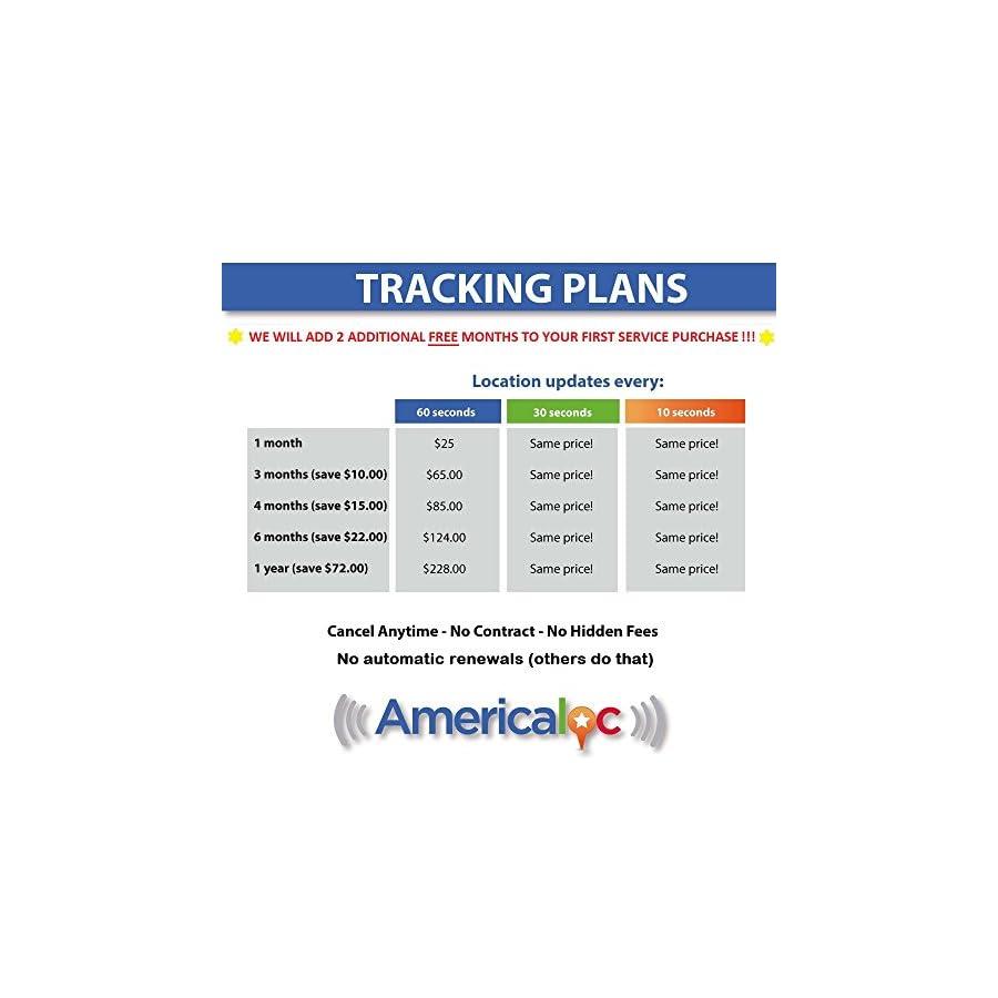 AMERICALOC GL300W Mini Portable Real Time GPS Tracker. XW Series